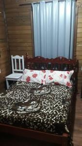 Chácara do Rosa, cabana baixa, sala