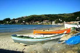 Praia do centro de Garopaba
