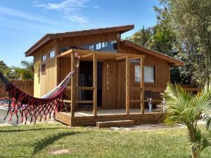 Chácara do Rosa, cabana Loft frente