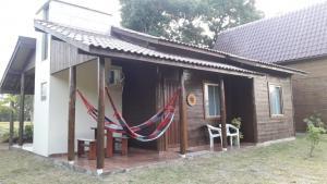 Chácara do Rosa, cabana baixa frente